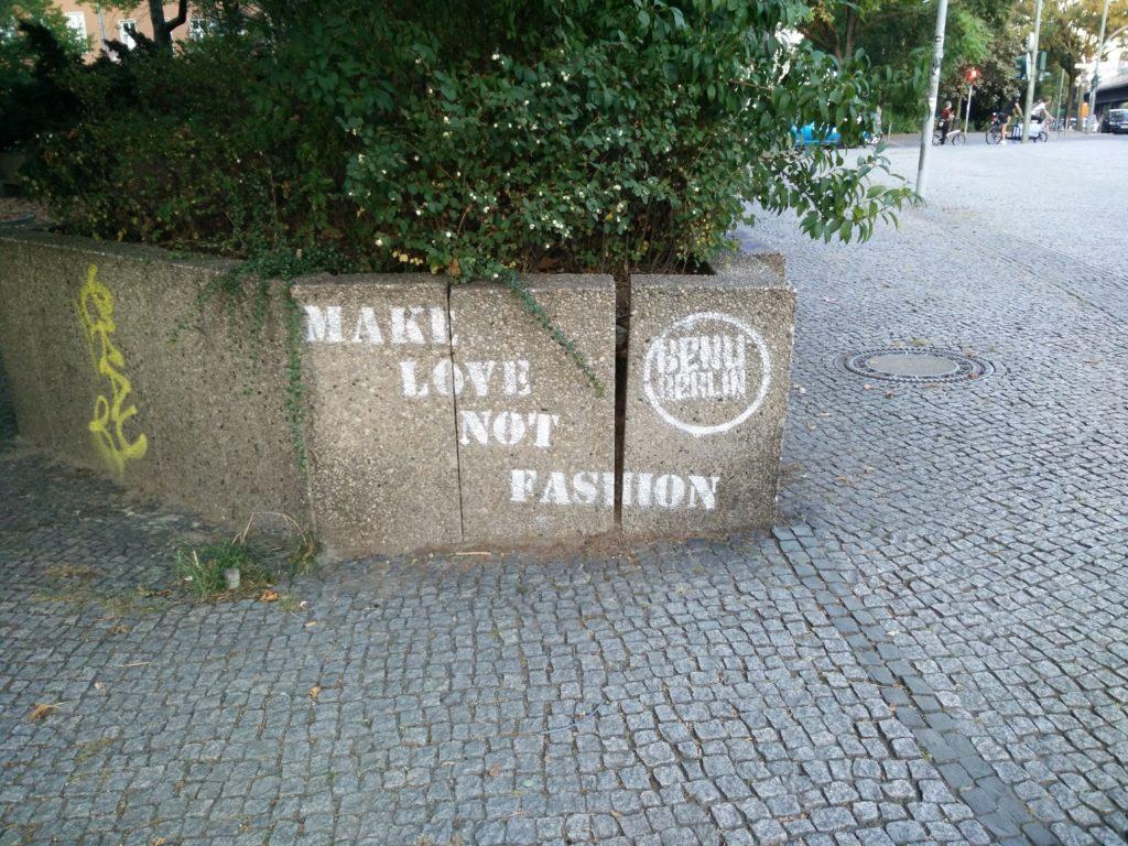make love not fashion